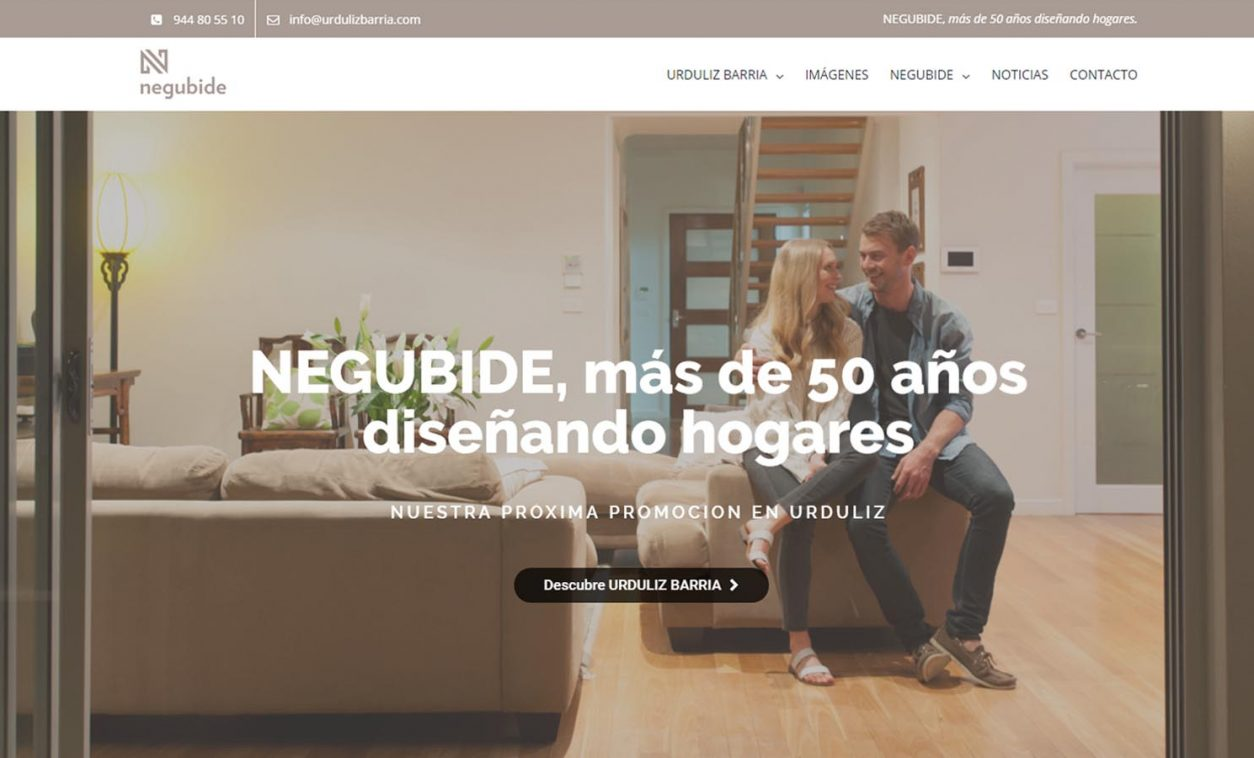 Diseño Web NEGUBIDE