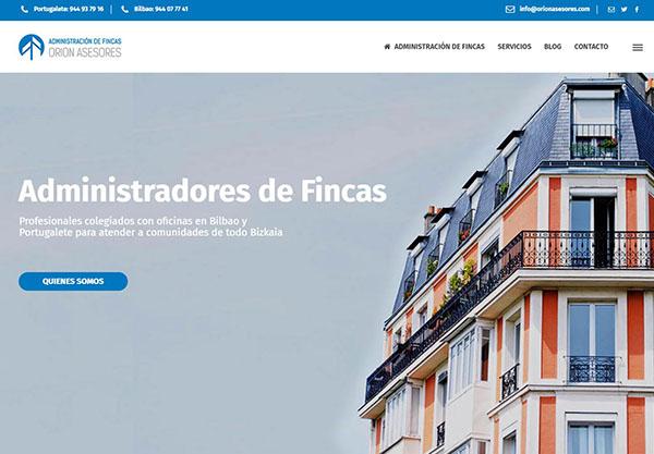 Diseño web y Logotipo ORION ASESORES