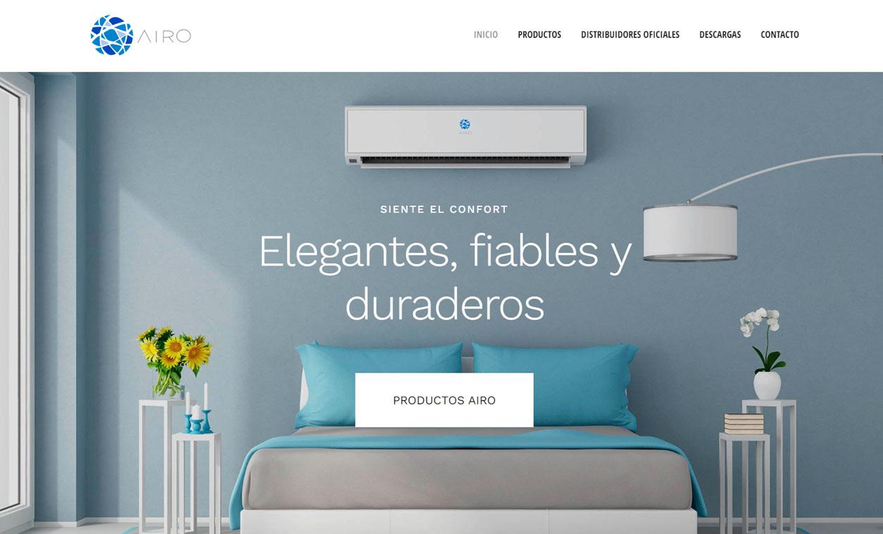 Diseño Web AIRO