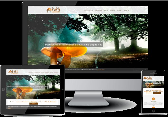 Diseño Web y Logotipo KOIKILI ATERPETXEA