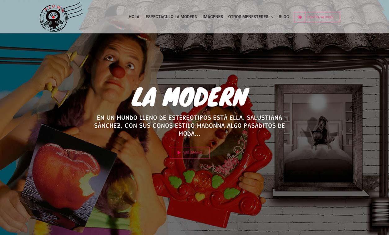Diseño Web LA MODERN