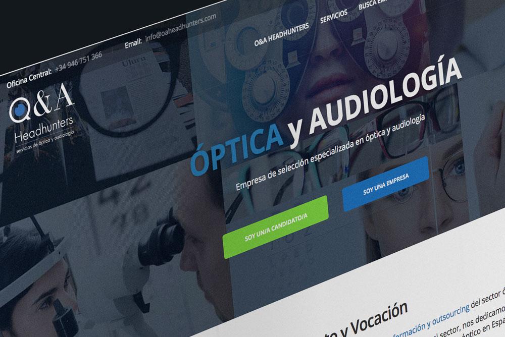 Diseño Web y Logotipo O&A Headhunters