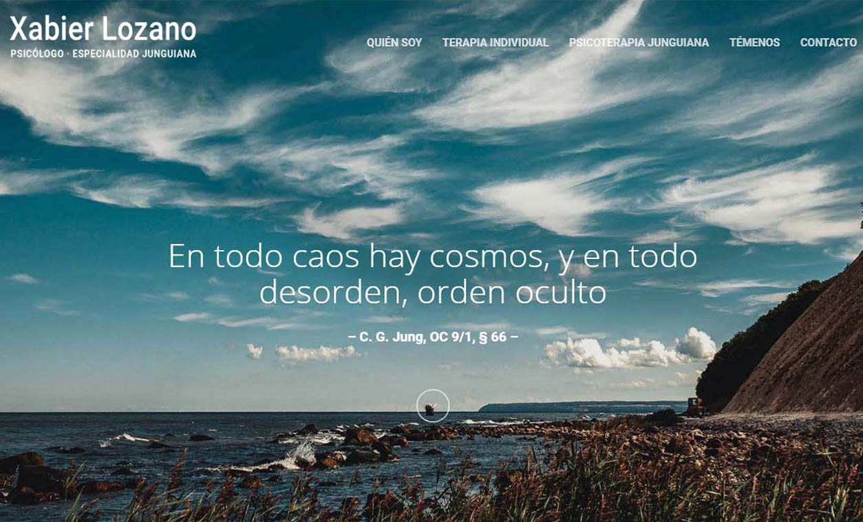 Diseño Web Xabier Lozano Psicólogo