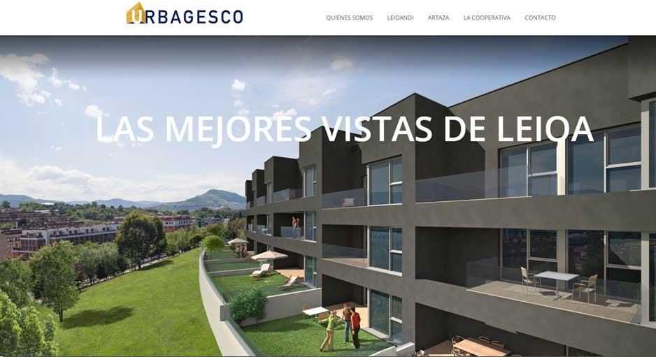 Diseño Web URBAGESCO