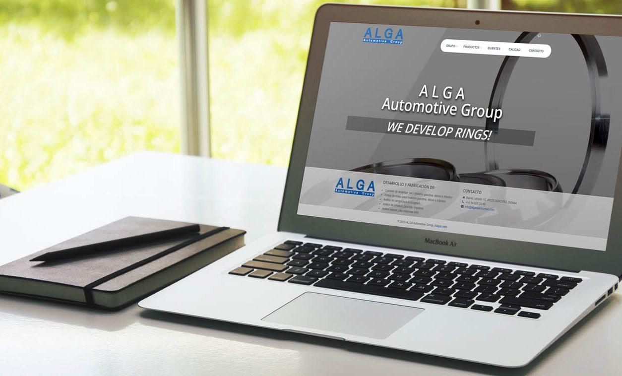 Rediseño Web ALGA Automotive Group