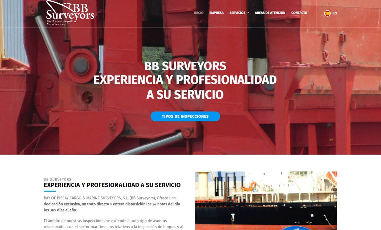 Diseño Web BB Surveyors