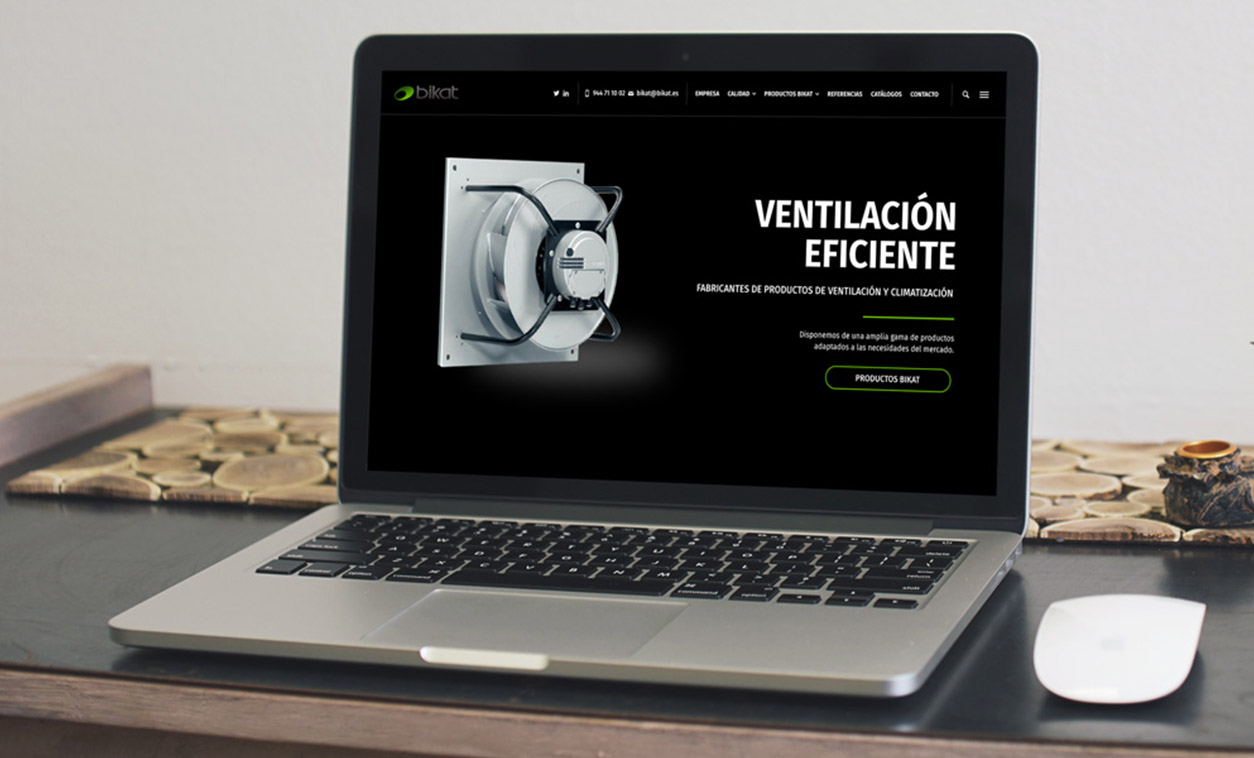 Diseño Web BIKAT