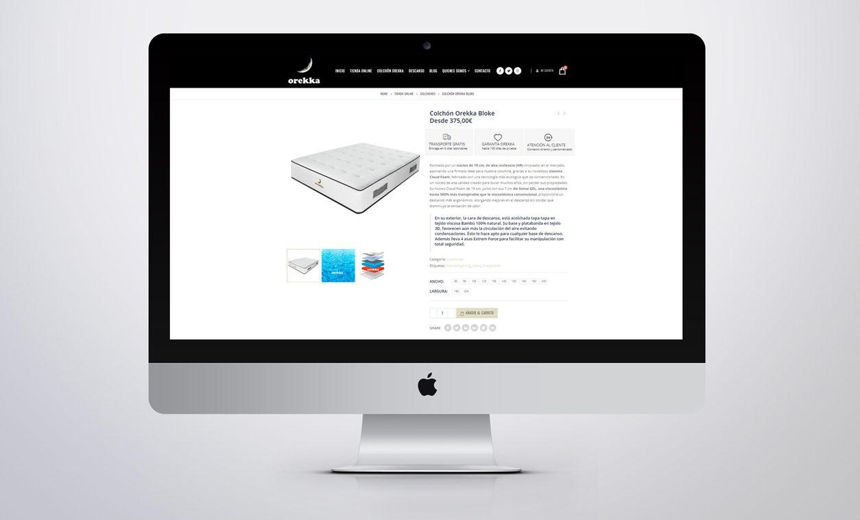 Diseño Web OREKKA