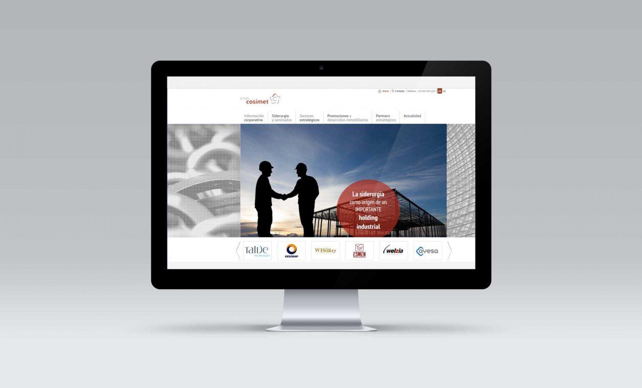 Rediseño Web Grupo COSIMET