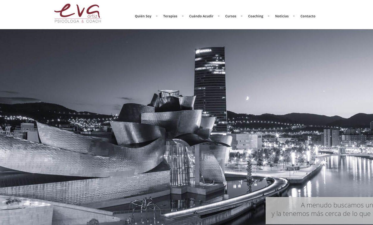 Diseño Web EVA ORTIZ Psicóloga & Coach