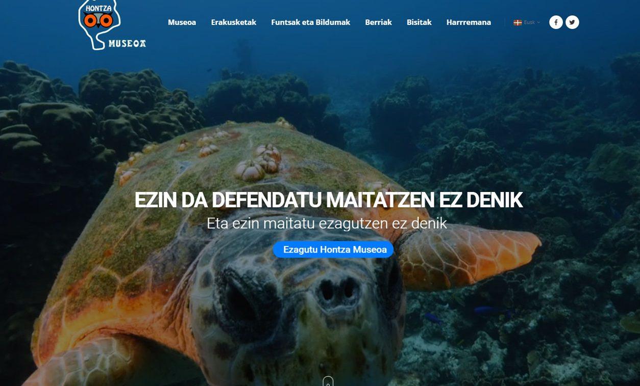 Rediseño Web HONTZA MUSEOA