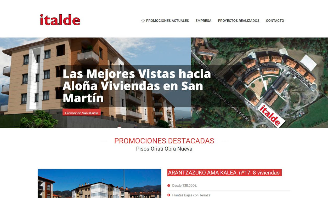 Diseño Web ITALDE