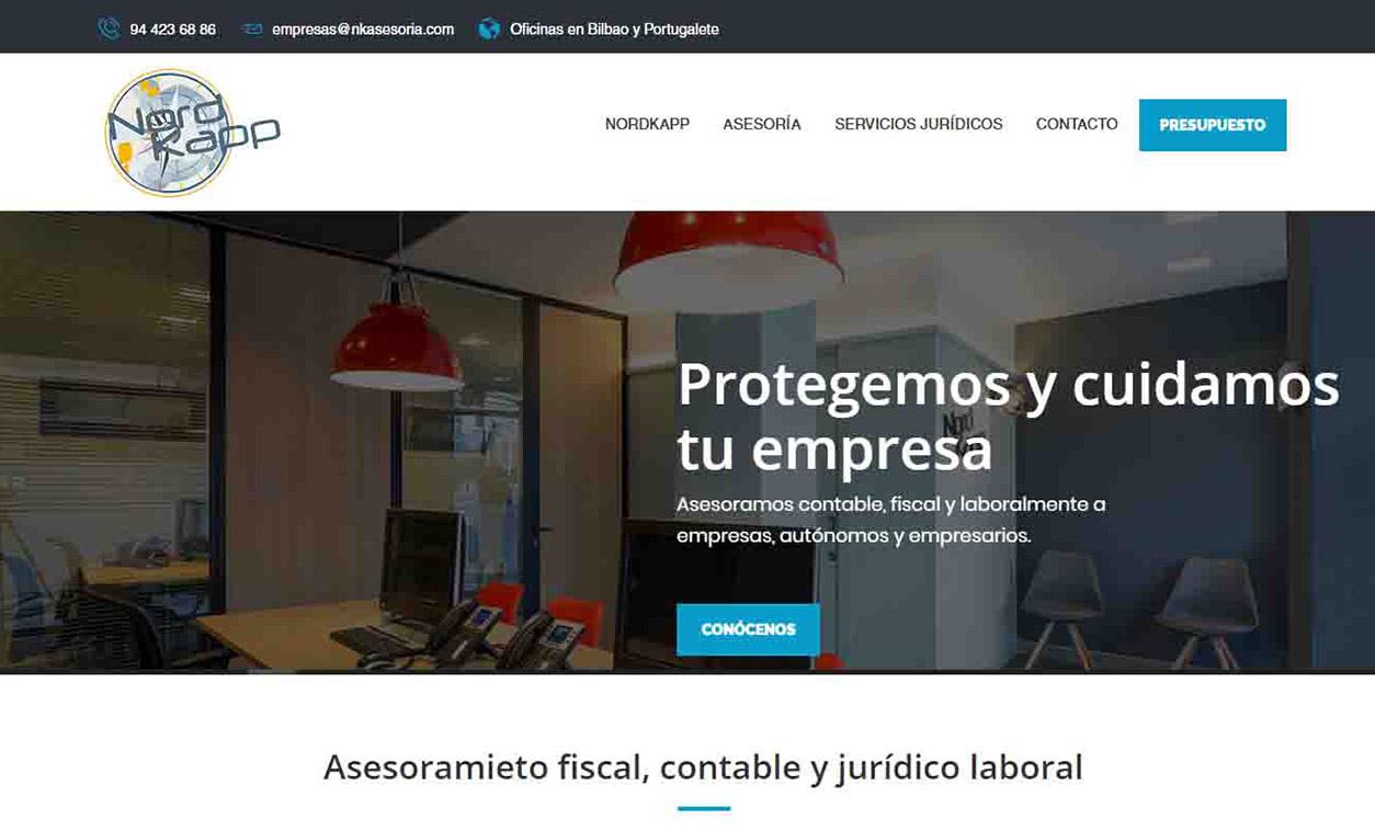 Diseño Web Nordkapp Asesoría