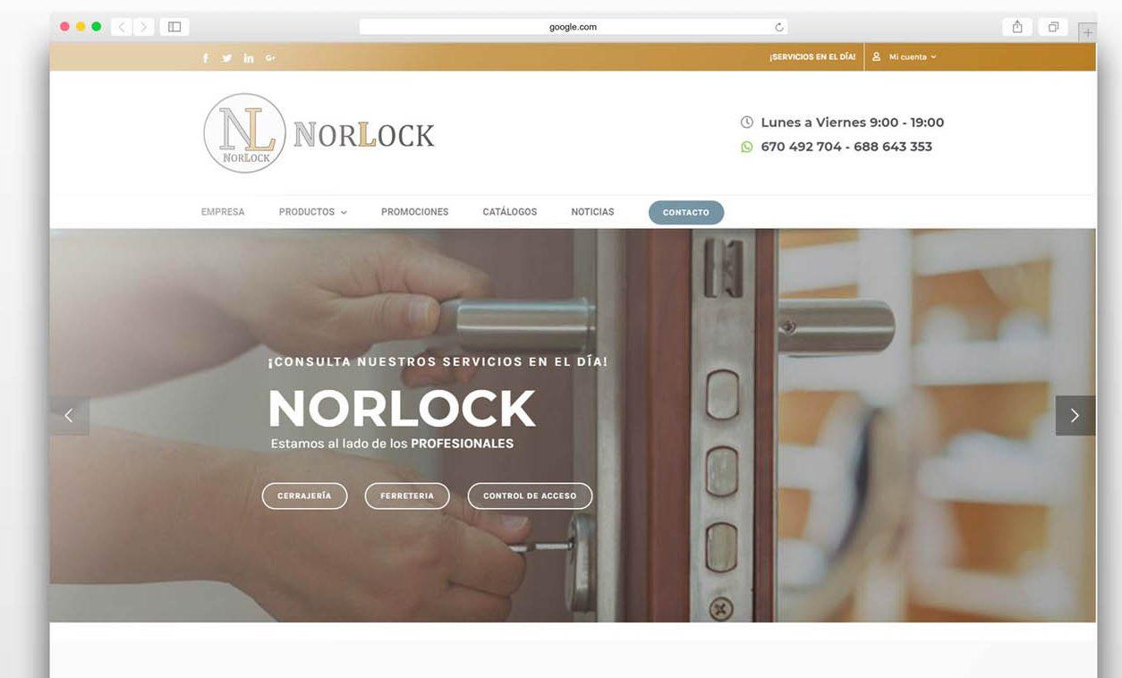 Diseño Web NORLOCK